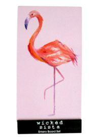 Wicked Sista: Emery Board - Flamingo