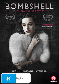 Bombshell: The Hedy Lamarr Story on DVD
