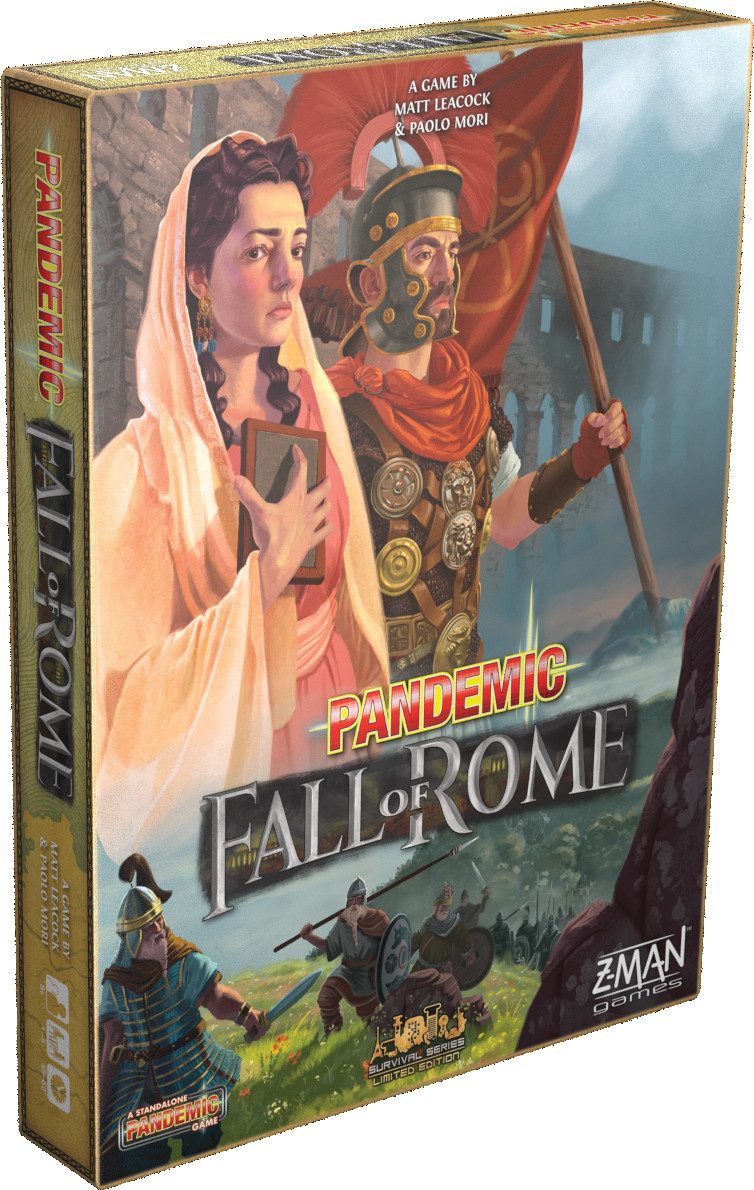 Pandemic - Fall of Rome image