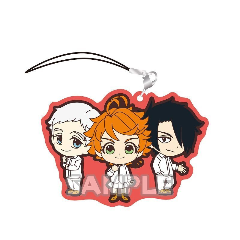 The Promised Neverland: Rubber Strap Duo - BlindBox