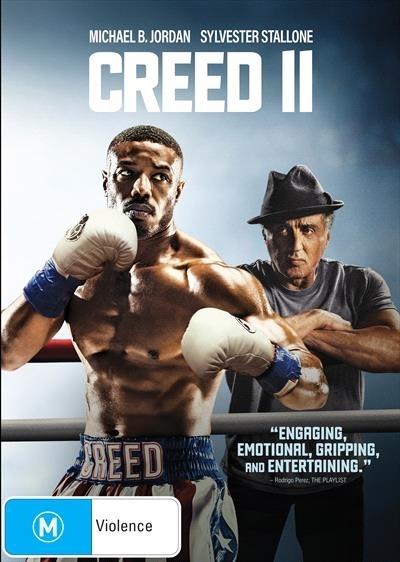 Creed 2 on DVD