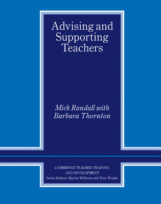 Advising and Supporting Teachers by Mick Randall image