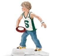 Schleich: Boy With Frisbee