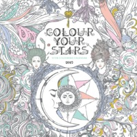 Colour Your Stars 2017 Square Wall Calendar
