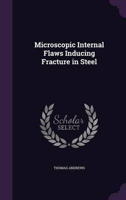 Microscopic Internal Flaws Inducing Fracture in Steel by Thomas Andrews image
