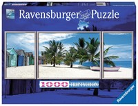 Ravensburger: Saona Island Caribbean - 1000pc Tryptichon Puzzle