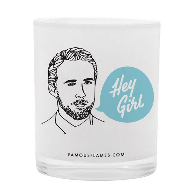 Famous Flames Candle - Hey Girl