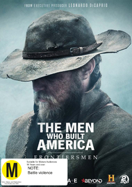 The Men Who Built America: Frontiersmen on DVD image