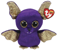 Ty Beanie Boo: Purple Bat - Small Plush