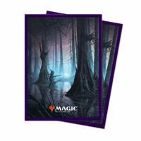 Sleeves Standard 100 pack Magic Unstable Lands Swamp