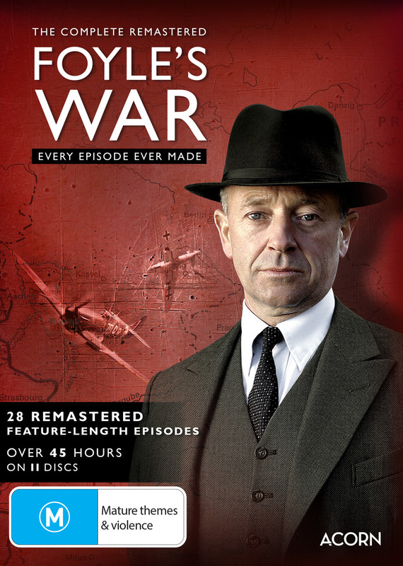 The Complete Remastered Foyles War on DVD