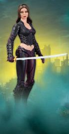 Batman Arkham City Talia Action Figure - Series 4