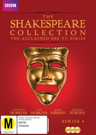 BBC The Shakespeare Collection - Series 4 on DVD