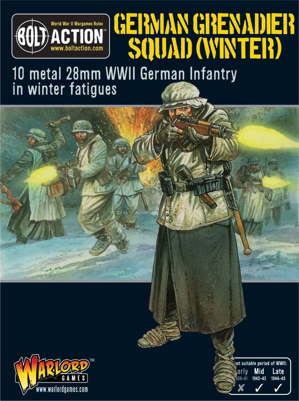 German Grenadier Squad (Winter)