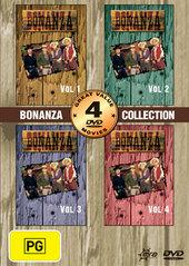 Bonanza Collection (vol 1-4) (2 Disc) on DVD