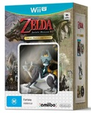Legend of Zelda Twilight Princess HD + Amiibo bundle for Nintendo Wii U