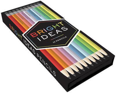 Bright Ideas Pencils (Box of 10) by Chronicle Books