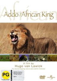 Hugo Van Lawick - Addo - The African King on DVD image