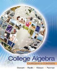 College Algebra by James Stewart