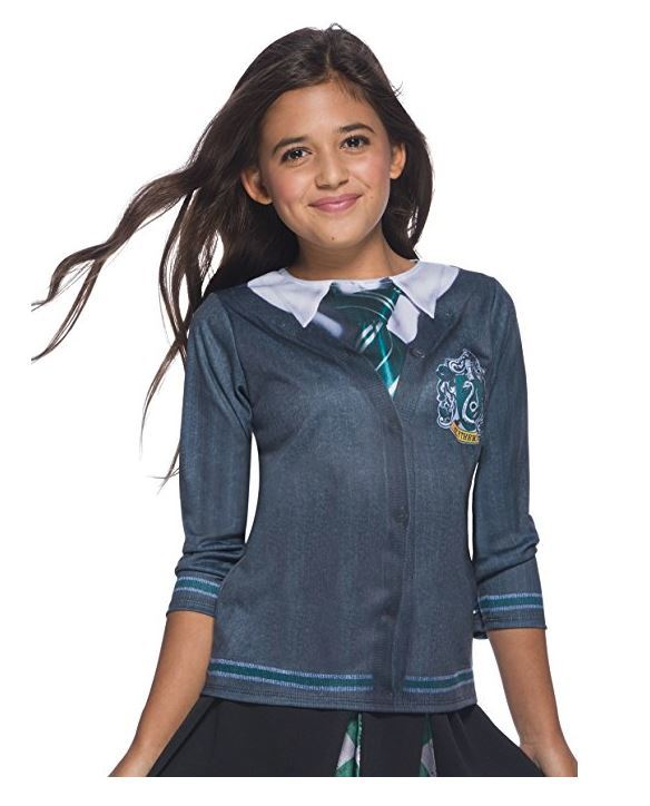Harry Potter Toys: Kids Slytherin Costume Top - Large