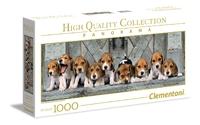 Clementoni Panorama: 1000-Piece Puzzle - Beagles