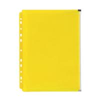 Marbig: Zip Binder Pocket - Yellow