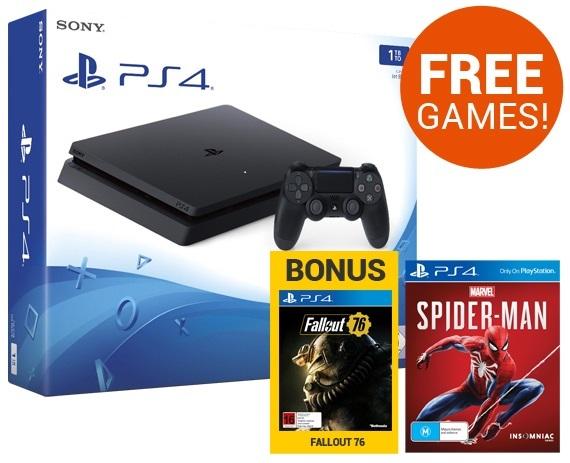 PS4 Slim 1TB Premium bundle screenshot