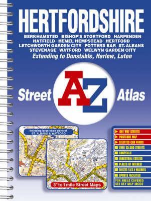 Hertfordshire Street Atlas image