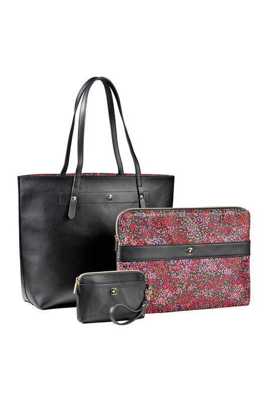 Wenger Marie Sol 4-in-1 Reverse Tote Blk/Floral