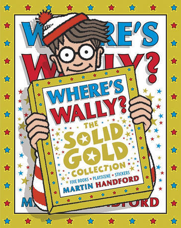 Where's Wally? The Solid Gold Collection Box Set (6 Books) by Martin Handford