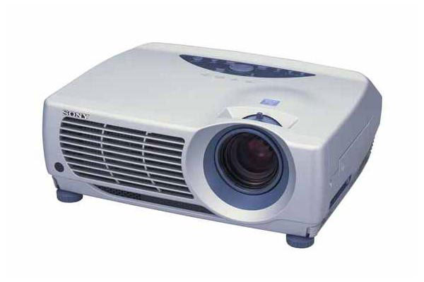 Sony Projector LCD Portable 2000 ANSI Lumens Network VPLPX15 image