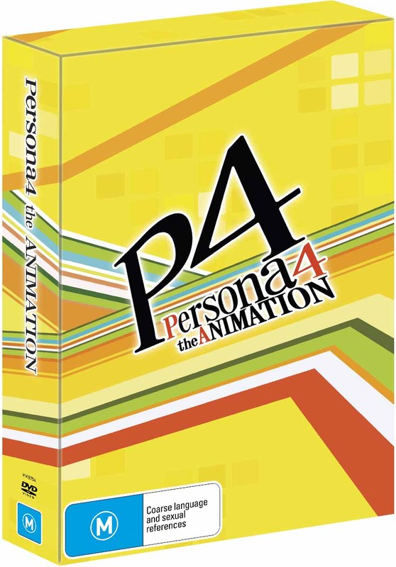 Persona 4 - The Animation Collection 2 (Collector's Box) on DVD