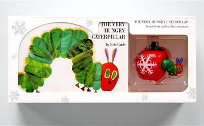 The Very Hungry Caterpillar Board Book and Ornament Package by Eric Carle