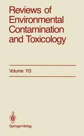 Reviews of Environmental Contamination and Toxicology by George W Ware