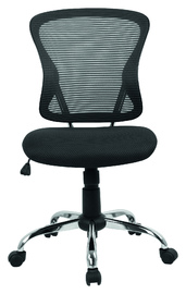 Brenton Mesh Mid Back Office Chair - Black