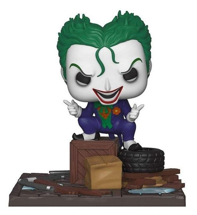 DC Comics: Joker in Alley - Pop! Comic Moment Vinyl