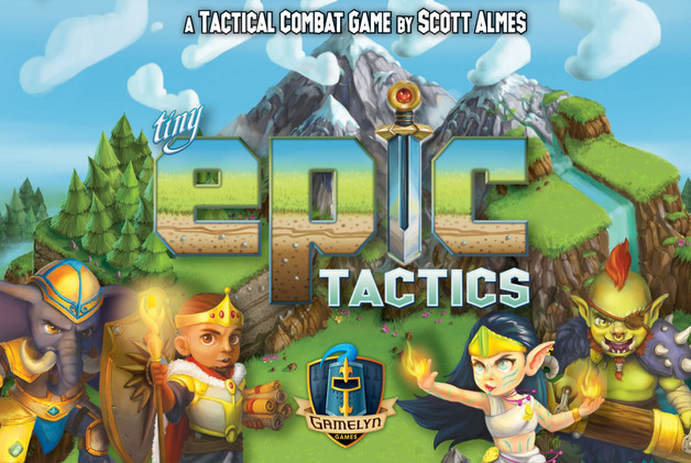 Tiny Epic: Tactics - Board Game