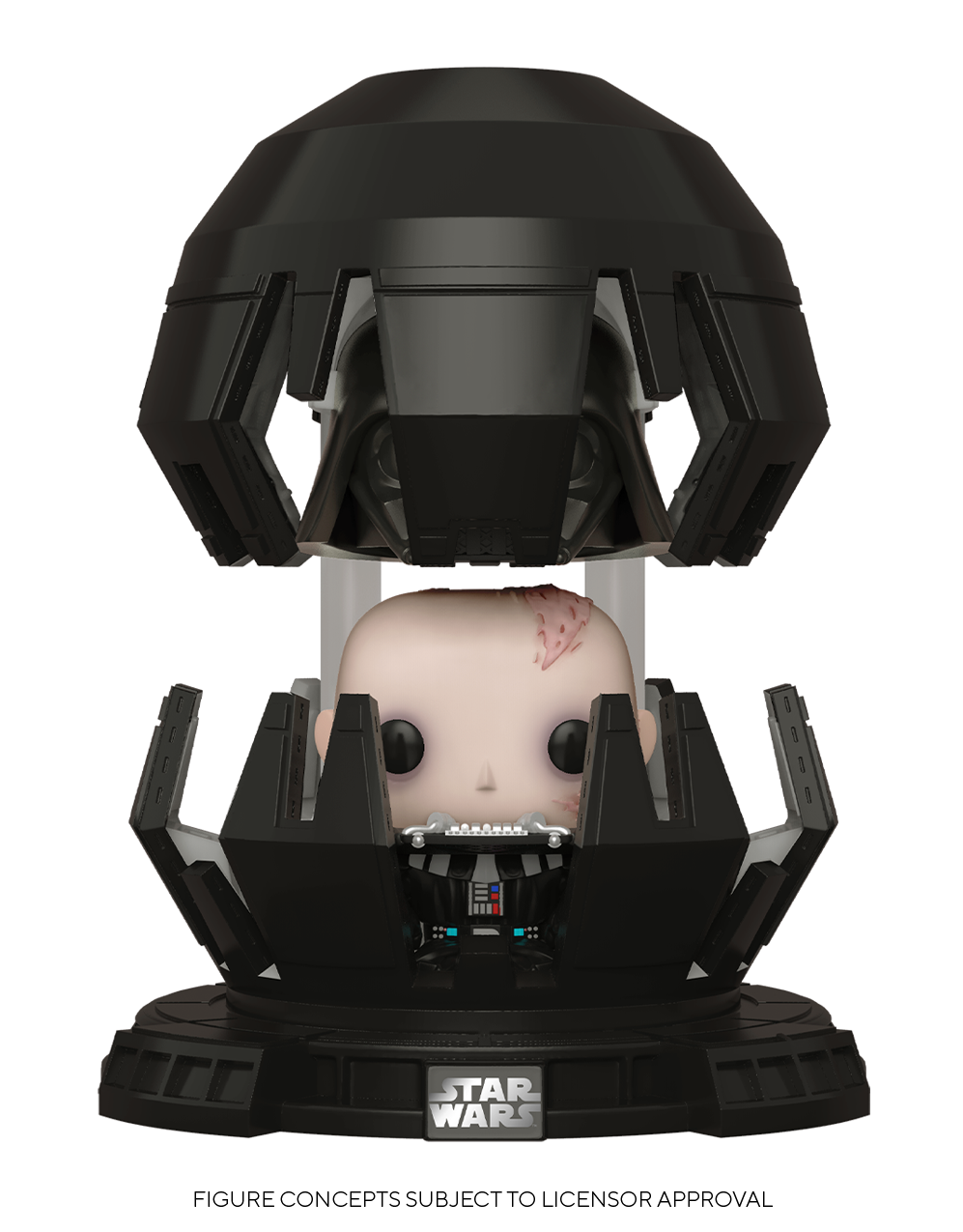 Darth Vader (Meditation Chamber) - Pop! Deluxe Figure image