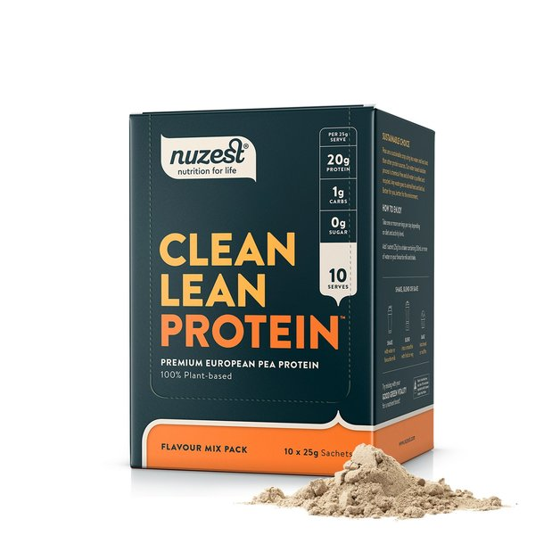Nuzest: Clean Lean Protein - Mixed Pack (10x10g)