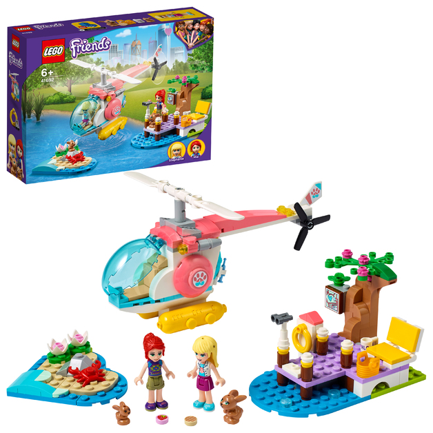 LEGO Friends: Vet Clinic Rescue Helicopter - (41692)