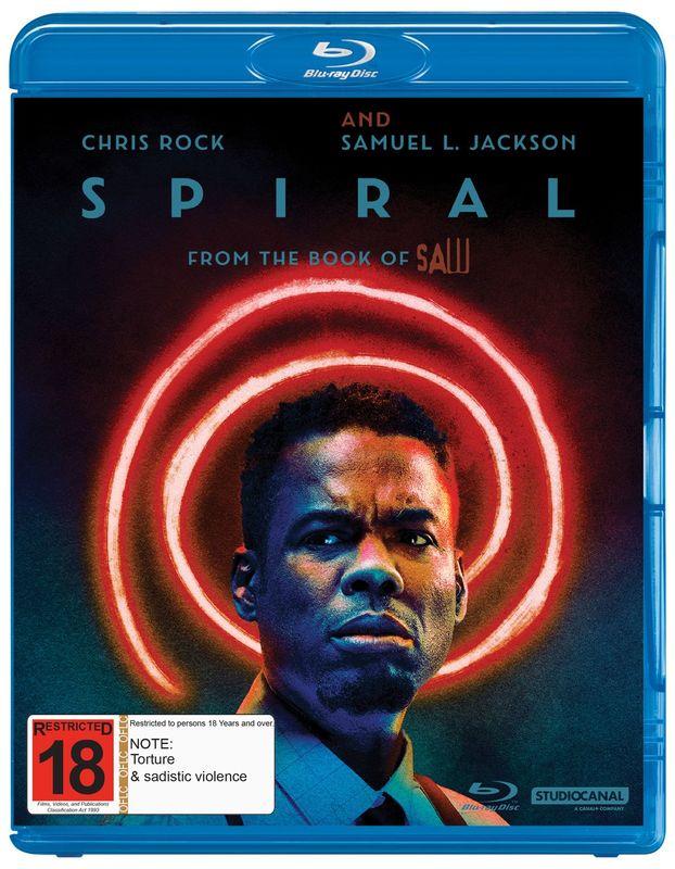 Spiral on Blu-ray
