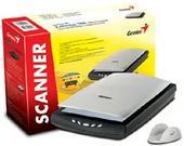 GENIUS SCANNER SLIM USB 2.0 COLORPAGE-HR8