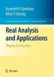 Real Analysis and Applications by Kenneth R. Davidson