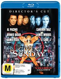 Any Given Sunday on Blu-ray