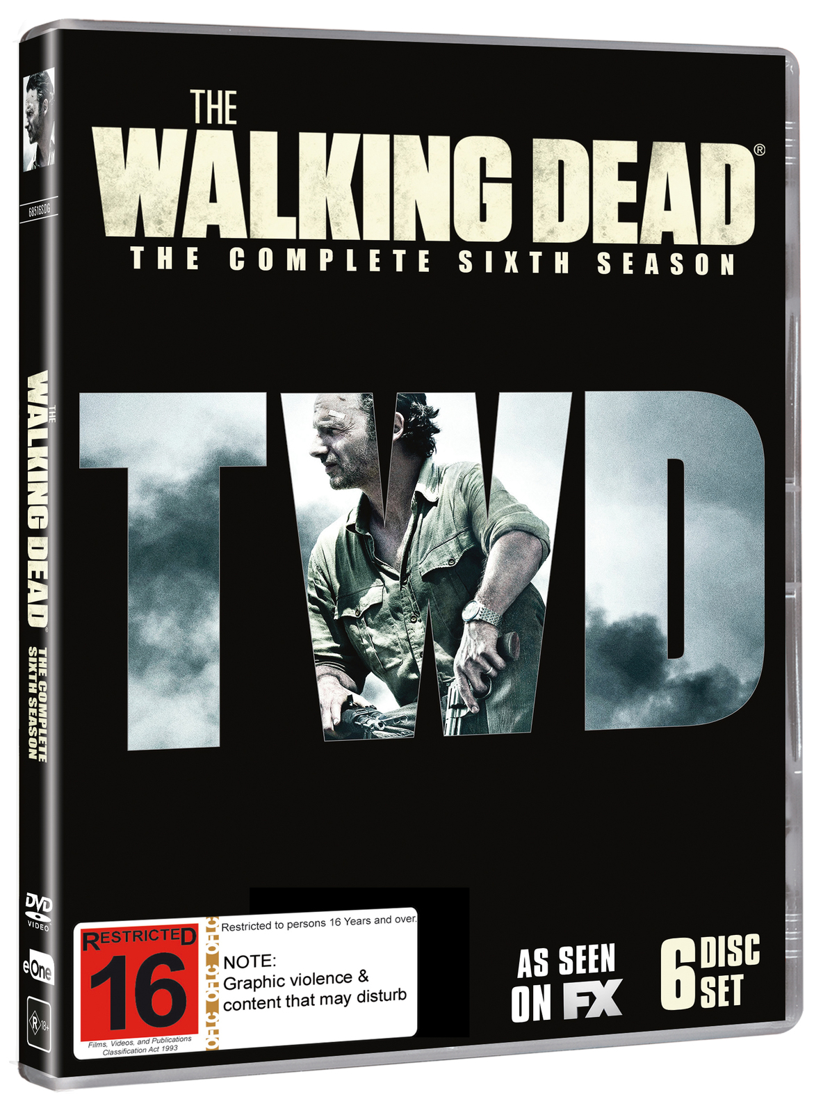 The Walking Dead - The Complete Sixth Season on DVD image