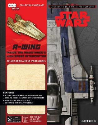 Incredibuilds: Journey To Star Wars: The Last Jedi by Michael Kogge image