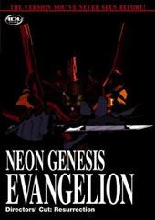 Neon Genesis Evangelion Director's Cut: Resurrection on DVD