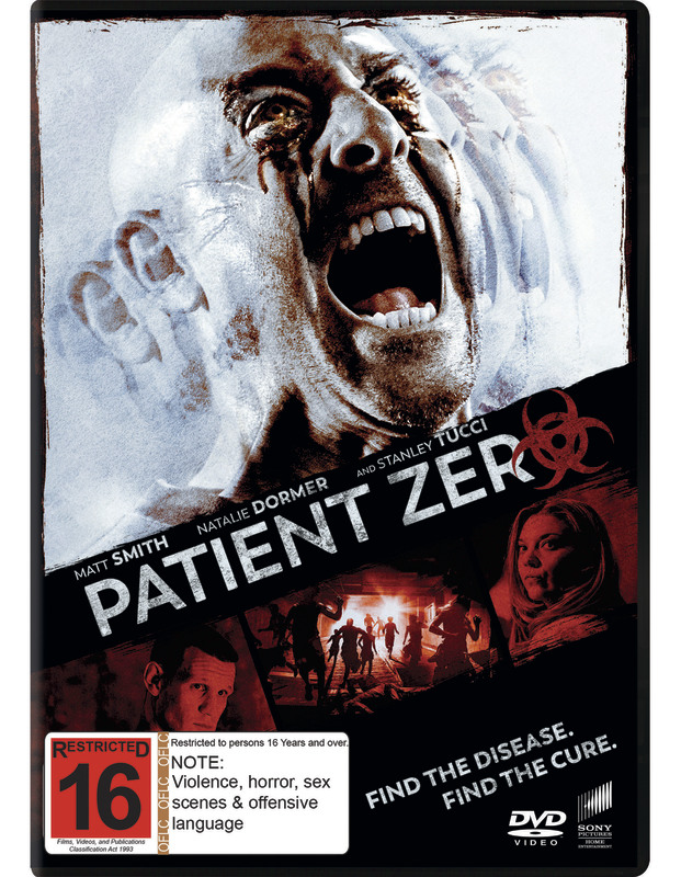 Patient Zero on DVD
