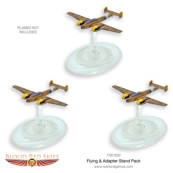 Blood Red Skies: Flying Stand & Adaptor Stand Pack