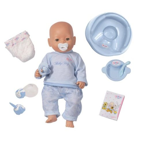 Baby Born With Magic Eyes Boy (White) image